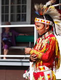 Young Aboriginal Boy Dancing Royalty Free Stock Images