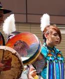 Young Aboriginal Dancer Stock Image