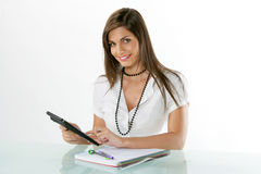 Young accountant Royalty Free Stock Image
