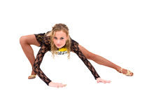 Young acrobat posing Stock Photography