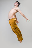 Young active dancer jumping Stock Image