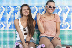 Young active women Royalty Free Stock Image