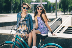 Young active women Royalty Free Stock Photo