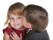 Young admirer Royalty Free Stock Images