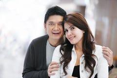 Young adult asian family couple Stock Photos