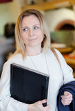 Young adult business woman looking away Stock Photos