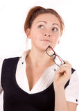 Young Adult Businesswoman Royalty Free Stock Photo