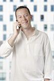 Young adult calling Stock Photos