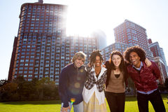 Young Adult City Stock Photography