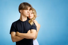Young adult couple royalty free stock image
