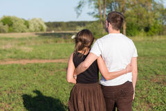 Young adult couple Royalty Free Stock Photography