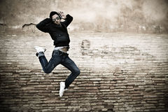 Young adult dancing Stock Photo