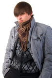 Young Adult Fashion Boy. Royalty Free Stock Image