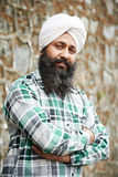 Young adult indian sikh man Royalty Free Stock Photography