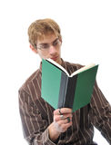 Young Adult Reading Book Stock Photos