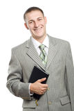 Young adult smiling businessman Stock Photography