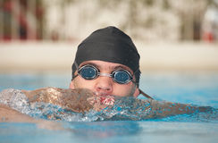 Young adult swimmer Royalty Free Stock Photo