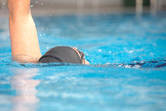 Young adult swimmer Royalty Free Stock Images