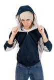 Young adult wearing casual clothes Royalty Free Stock Image