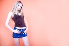 Young adult woman stock images
