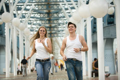 Young adults Royalty Free Stock Photography