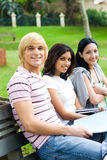 Young adults Stock Image