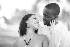Young affectionate couple Royalty Free Stock Photography