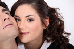 Young affectionate couple Stock Photography