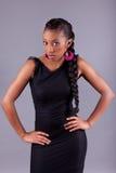 Young African amercian woman posing Stock Image