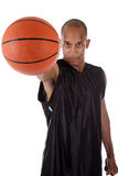 Young African American basketball player Stock Photo
