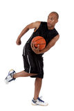 Young African American basketball player Stock Photography