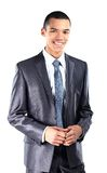 Young African American business man Stock Photography