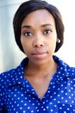 Young african american business woman Royalty Free Stock Photos