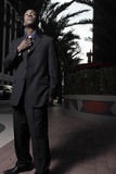 Young African American businessman Stock Photography
