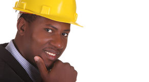 Young African American Businessman Stock Images