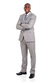 Young african american businessman Royalty Free Stock Image