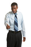 Young African American Businessman Isolated Royalty Free Stock Images