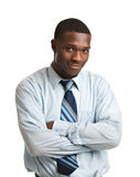 Young African American Businessman Isolated Stock Images
