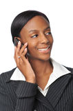 Young African American Businesswoman Royalty Free Stock Photo