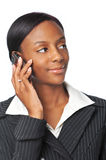Young African American Businesswoman Royalty Free Stock Images