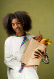 Young African American Chef Royalty Free Stock Images