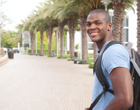 Young African American college student royalty free stock photos