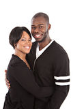 Young African American Couple Portrait Stock Image
