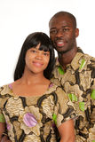 Young African American Couple Portrait Royalty Free Stock Images