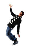 Young African American Dancing Stock Images