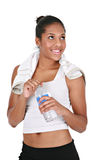 Young African American Female Athlete Stock Photography