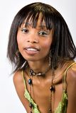 Young African American girl Royalty Free Stock Photography