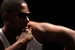 Young African American Male Royalty Free Stock Photos