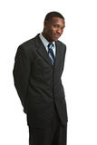 Young African American Male Model Isolated Royalty Free Stock Images