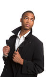 Young African American Male Model Isolated Royalty Free Stock Photos